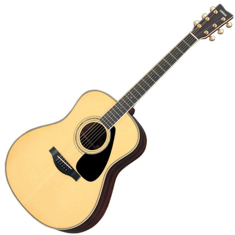 Yamaha l series ll6 dreadnought acoustic guitar with case for Yamaha l series guitars