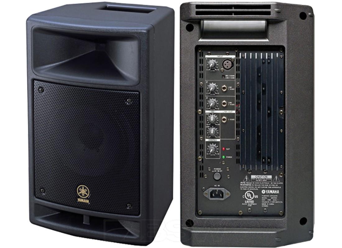 yamaha msr100 8 powered speaker. Black Bedroom Furniture Sets. Home Design Ideas