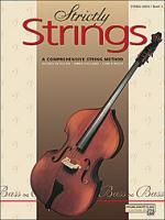 Strictly Strings String Bass Book 1 (5296)