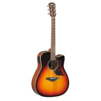 Yamaha A1M Acoustic-Electric Guitar Vintage Sunburst w/ Hard Case (A1MVS)