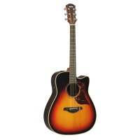 Yamaha A3R Acoustic-Electric Guitar Vintage Sunburst w/ Hard Case (A3RVS)