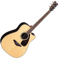 Yamaha FGX730SC Solid Top Acoustic-Electric Guitar (FGX730SC)