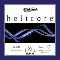 Helicore Hybrid 1/2 Bass D String (HH61212M)