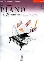 Accelerated Piano Adventures Book 2 - Theory Book (HL00420253)