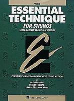 Essential Techniques for Strings - Violin (HL00868004)