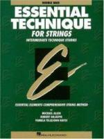 Essential Elements for Strings - Double Bass (HL00868007)