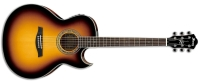 Ibanez JSA5 Joe Satriani Acoustic-Electric Guitar Vintage Burst (JSA5VB)