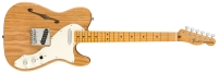 Fender American Original '60s Telecaster Thinline Maple Neck Aged Natural (0110172834)