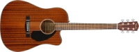 Fender CD-60SCE All-Mahogany Acoustic-Electric Guitar (0970113022)
