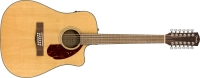 Fender CD-140SCE 12-String Acoustic-Electric Guitar Natural (0970293321)