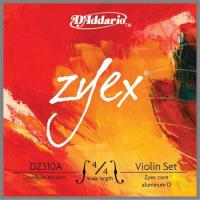 Zyex 4/4 Violin D String, Aluminum Medium Tension (DZ31344M)