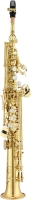 JSS1100 JUPITER GOLD-LACQUERED SOPRANO SAXOPHONE WITH METAL TONE BOOSTERS (JSS1100)