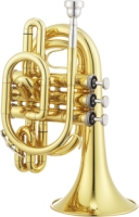 JTR710 JUPITER LACQUERED BRASS Bb POCKET TRUMPET (JTR710)