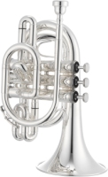 JTR710S JUPITER SILVER-PLATED Bb POCKET TRUMPET (JTR710S)