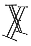 ON-STAGE Double Braced Keyboard Stand (KS7191)