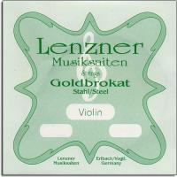 Lenzner Goldbrokat Violin E String Ball End (LEN12-1-26B)