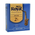 Rico Royal Eb Alto Sax Reeds Box of 10 (RICORYLAS)