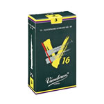 Vandoren V16 Eb Alto Sax Reeds Box of 10 (VV16AS)